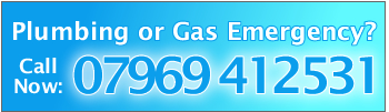 Plumbing or Gas Emergency? Call Now: 07969 412531